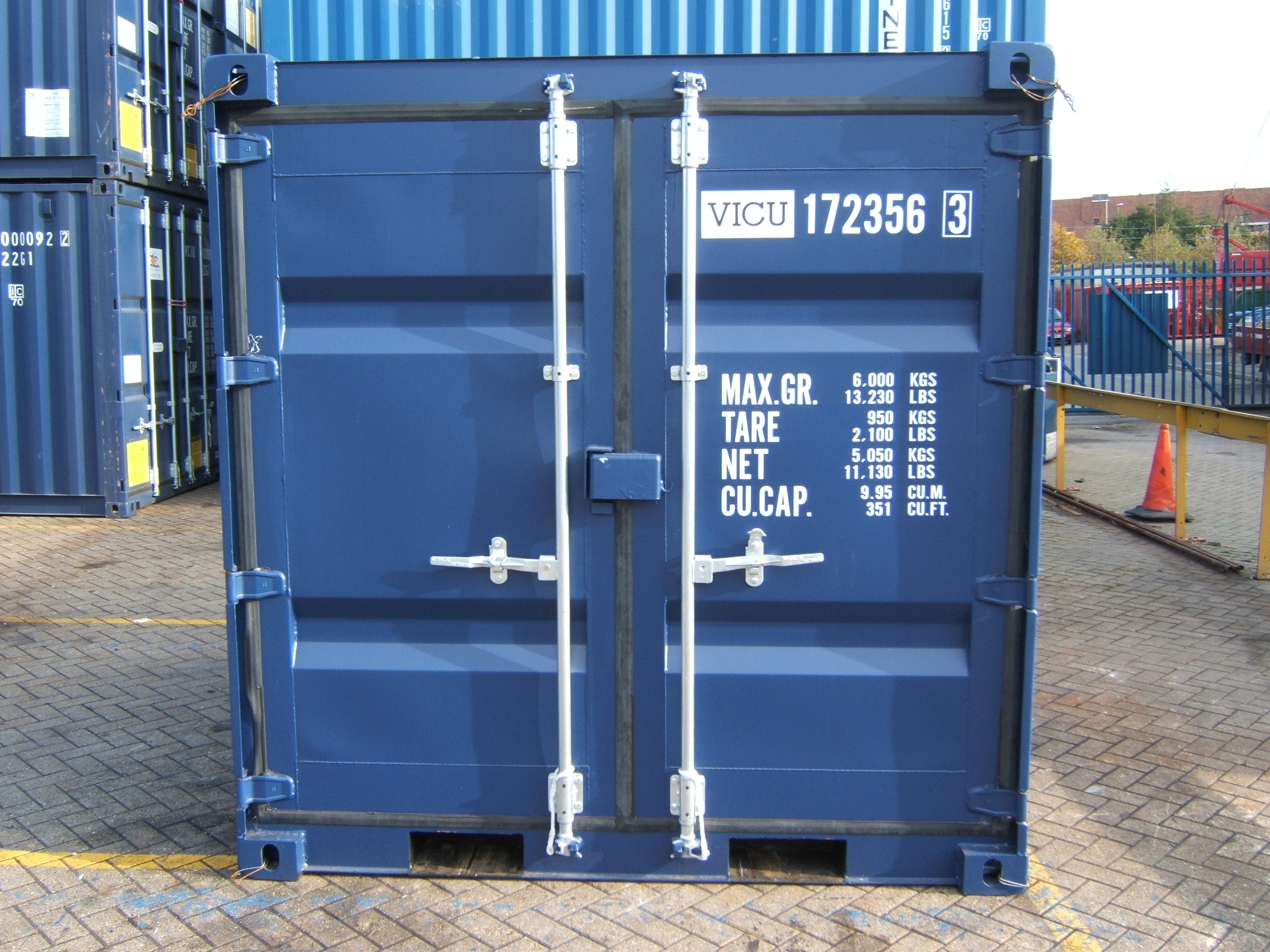 8' container - SOS West Wales